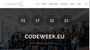 Le site de la Code Week